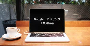 【Googleアドセンス】1カ月経過したので収益報告致します!