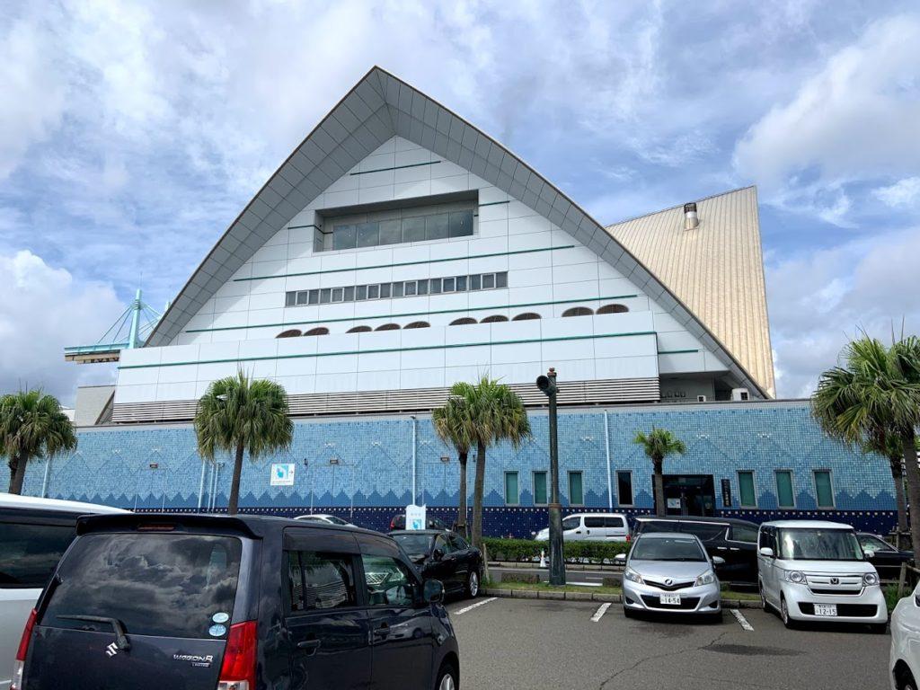 鹿児島水族館駐車場
